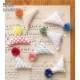 刺し子糸(hidamari)  点絣(てんがすり) 101 かき氷