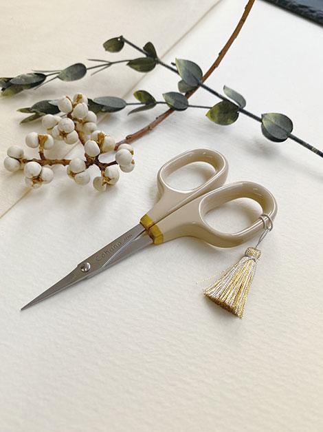 【冬季限定】漆と金蒔絵の小ばさみ ウィンターゴールド