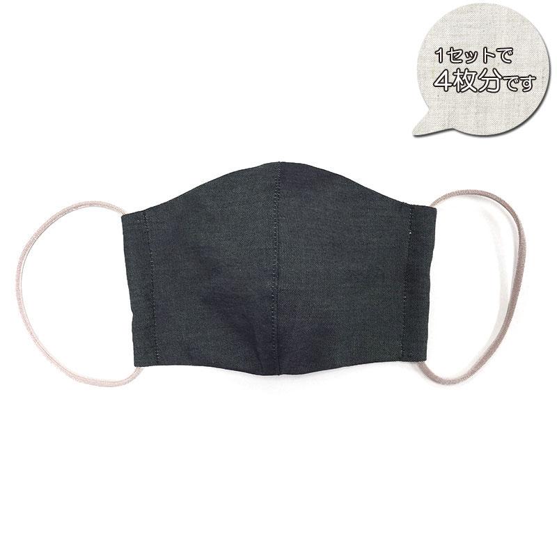 デニムマスクのキット(4枚分)