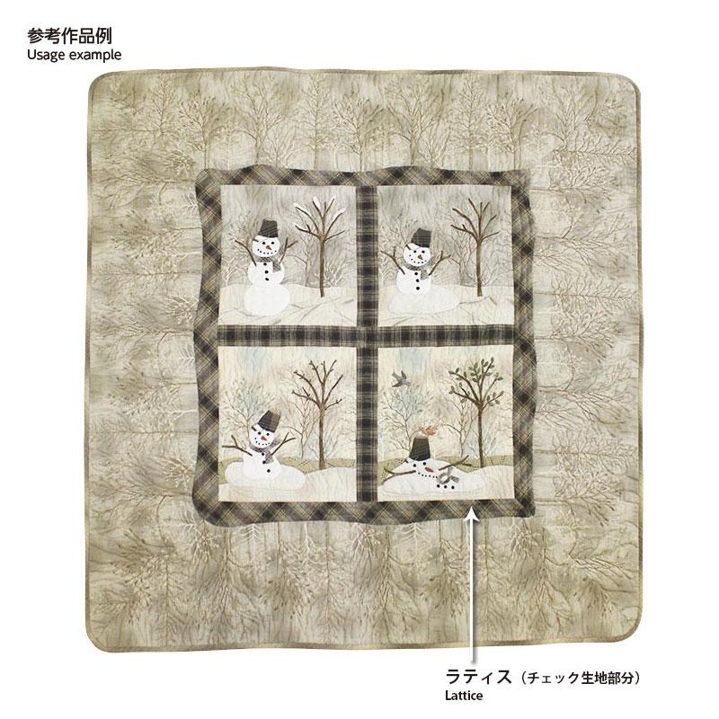 雪だるまのタペストリーの刺しゅう糸5色セット