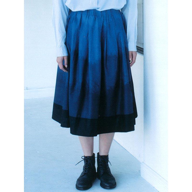 タックスカート(作り方なし)斉藤謠子のいつも心地のよい服とバッグ掲載