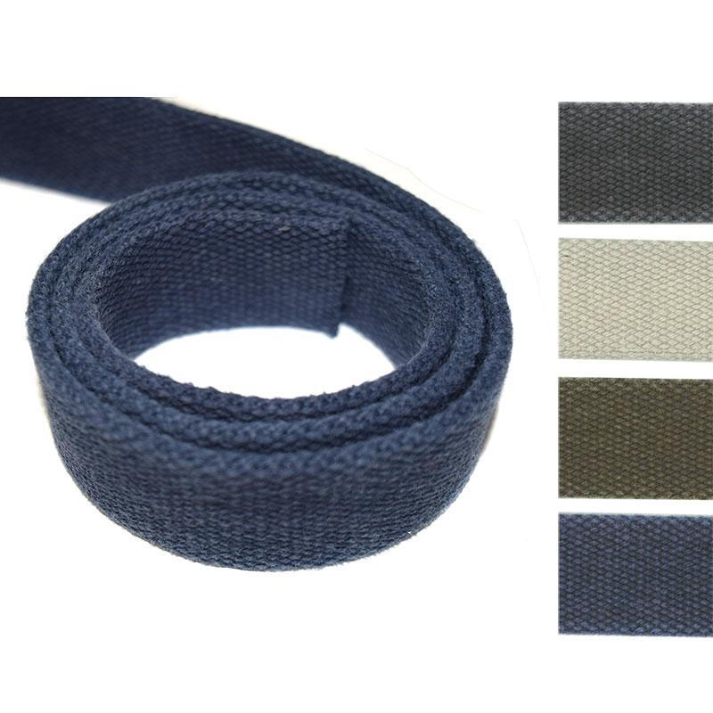 ヴィンテージ厚口綿テープ(2.5cm幅)