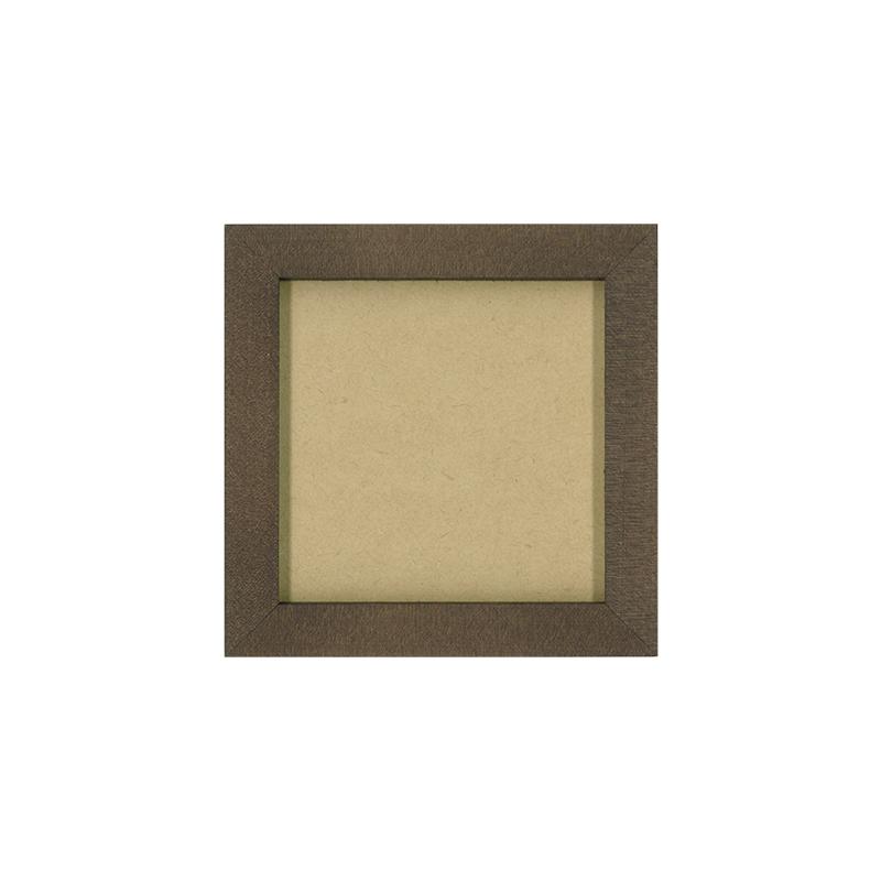 アンティーク調木製フレーム小(9cm×9cm)
