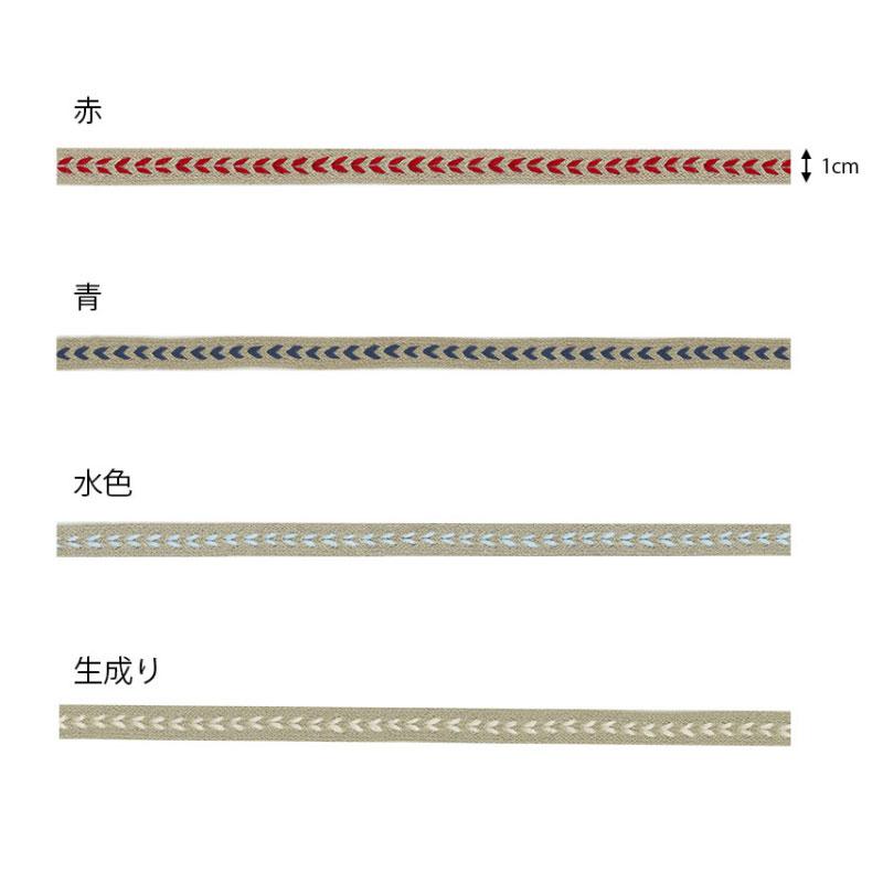 麻テープ(ハート柄)