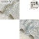 web20210520-01 手作りマスクにもおすすめリーフと実刺しゅうダブルガーゼ(プレゼント付き) 10cm
