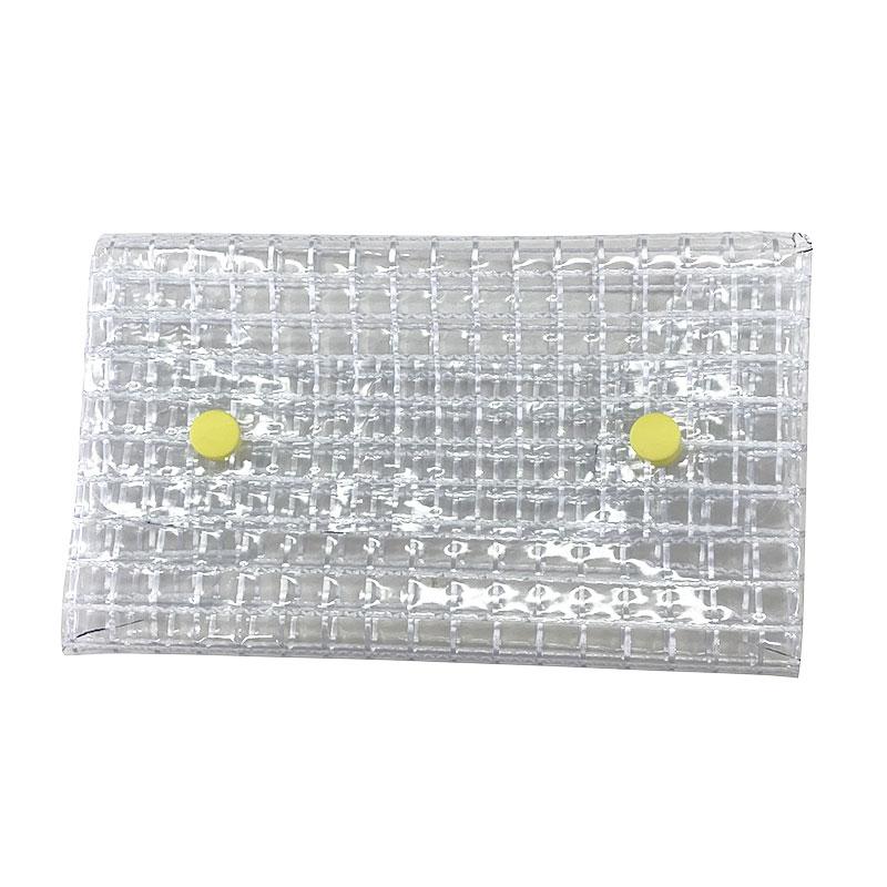 ネットビニール(PVC)で作る不織布マスクケース