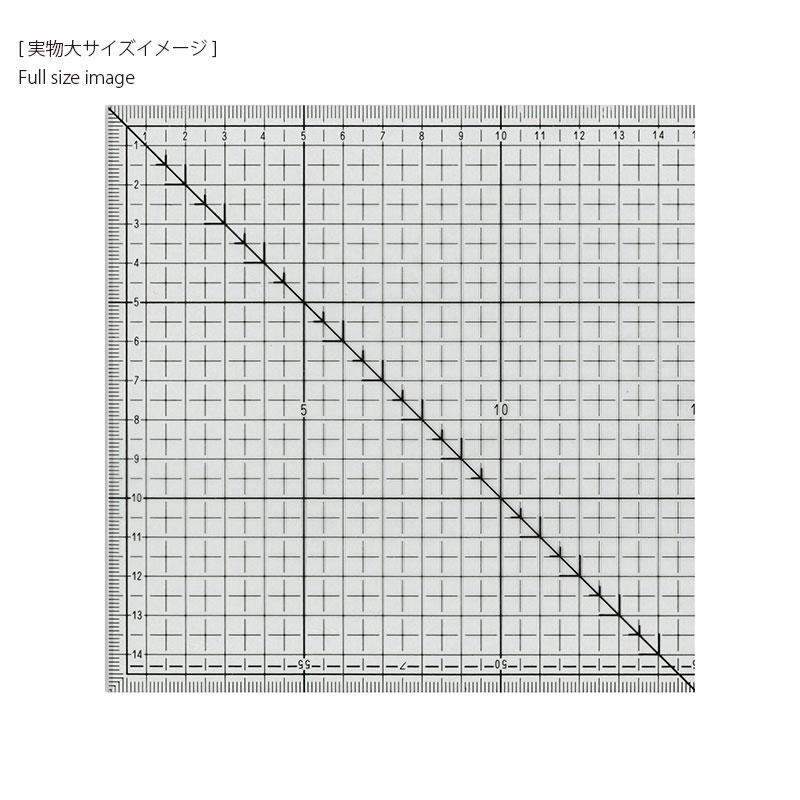 ミシンキルト定規クローバー(60cm)