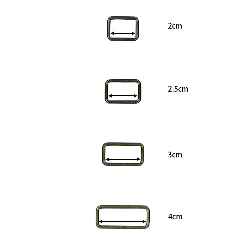 四角カン 2.5cm 2個セット