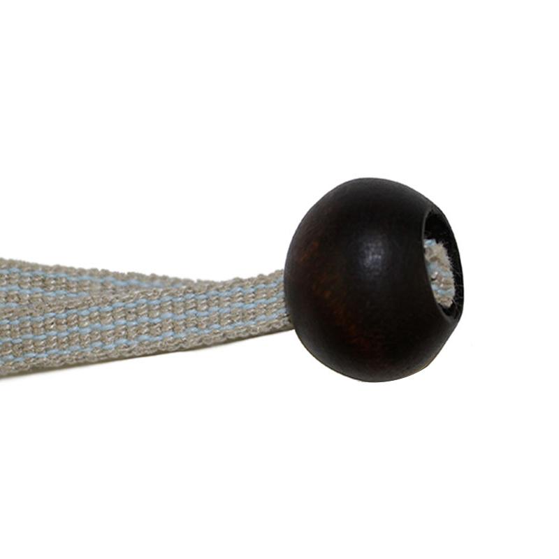 木玉(二段穴タイプ)焦げ茶 2ケセット 小