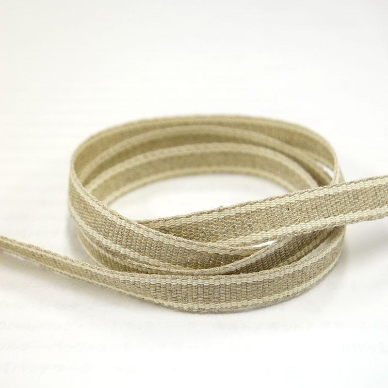 麻テープ(ライン柄)10mm巾