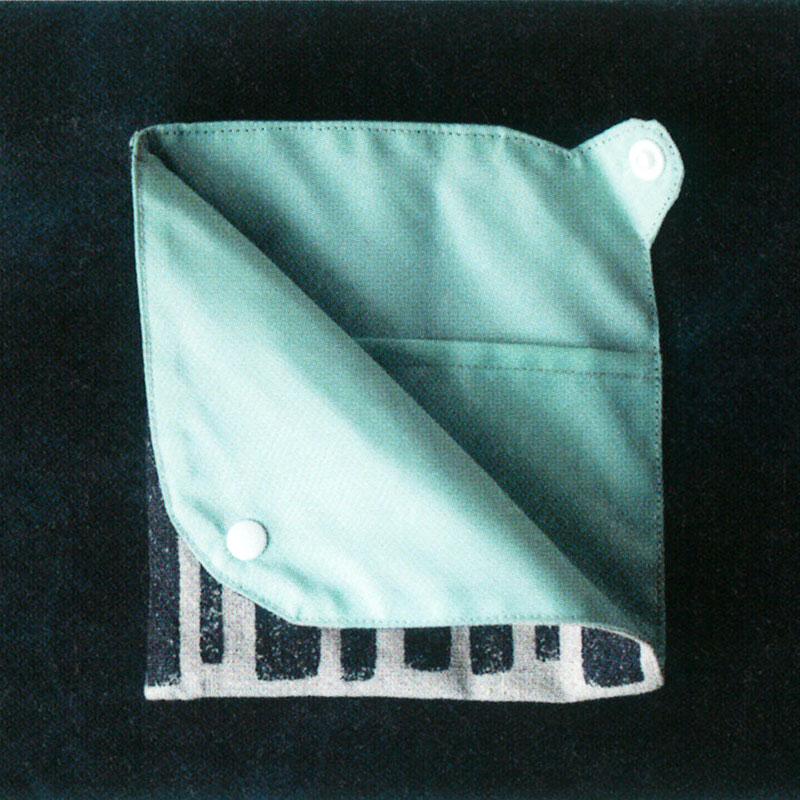 マスクポーチ(作り方なし)斉藤謠子の いま作りたいシンプルな服とかわいい小物掲載