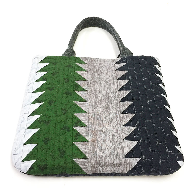 永遠の木のパターンで作るバッグ