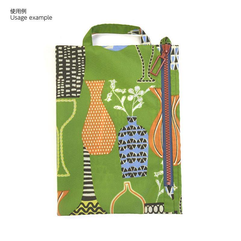 斉藤謠子オリジナルプリント 41015 ナイロンオックスフラワーベース 10cm