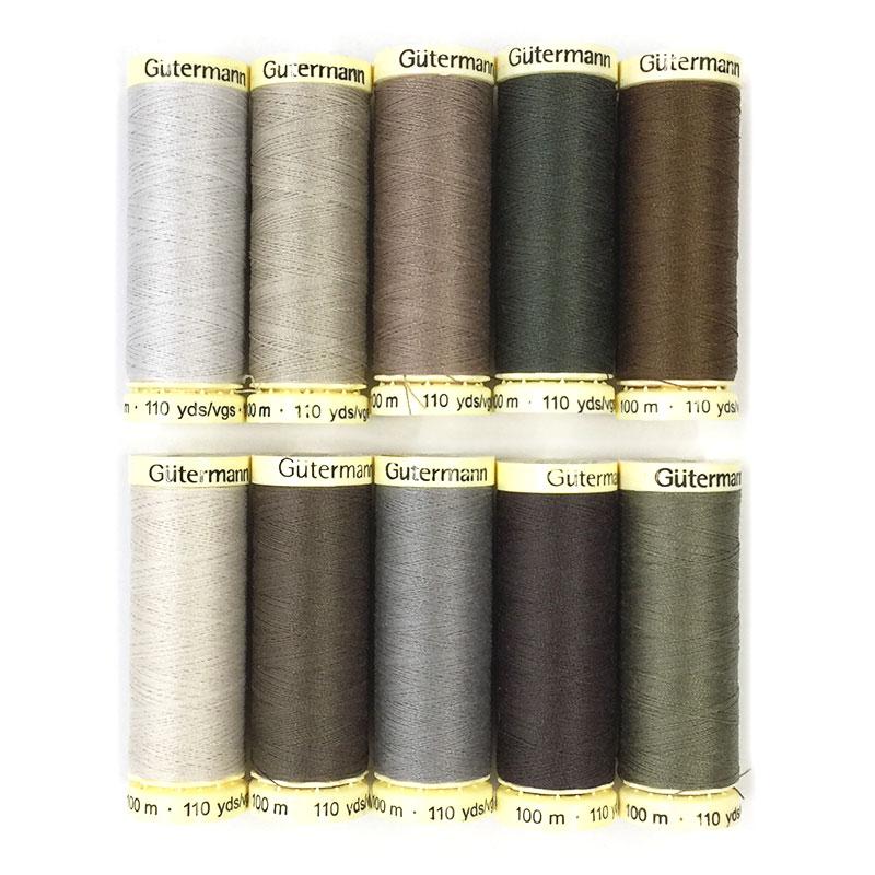 草花のタペストリーおすすめ糸10色セット