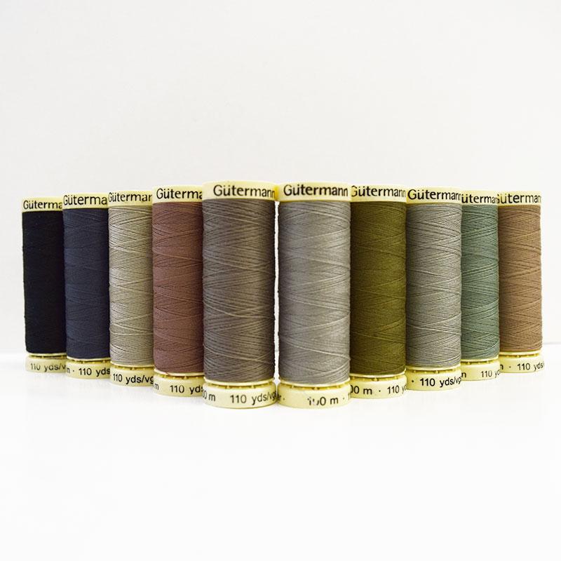 布で描くいきものたち タペストリー おすすめ糸10色セット