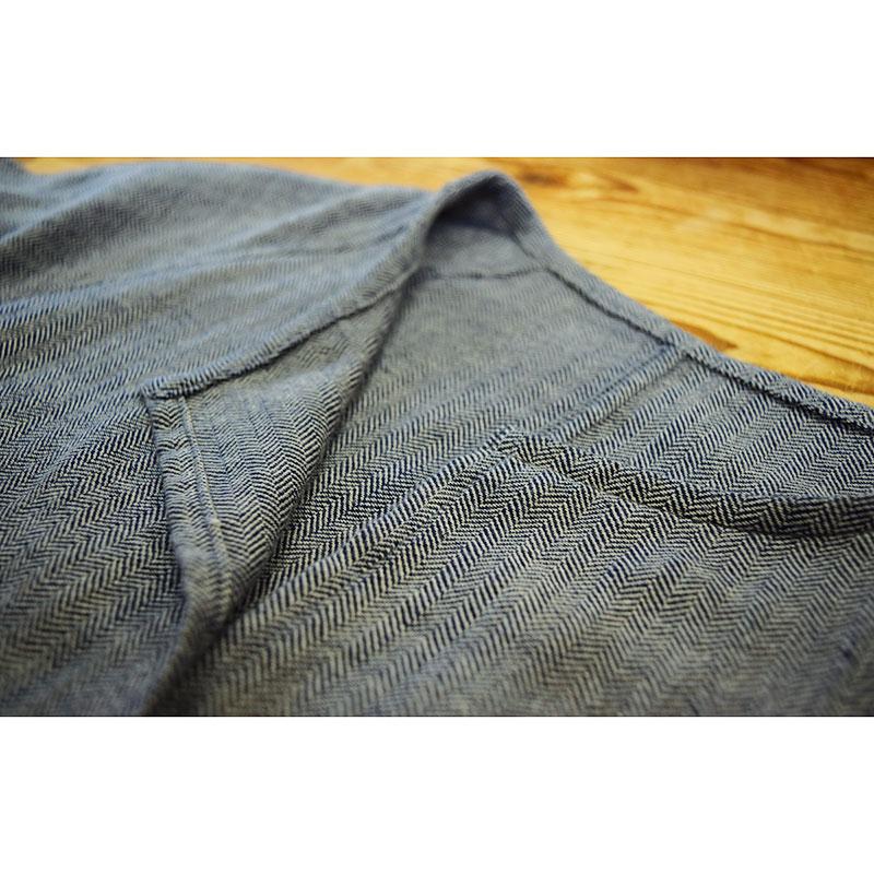 玉縁ポケットのはおりもの(作り方なし)すてきにハンドメイド2020年9月号掲載