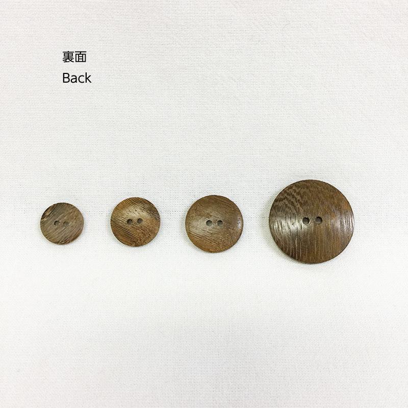 木工ボタン M 車輪柄