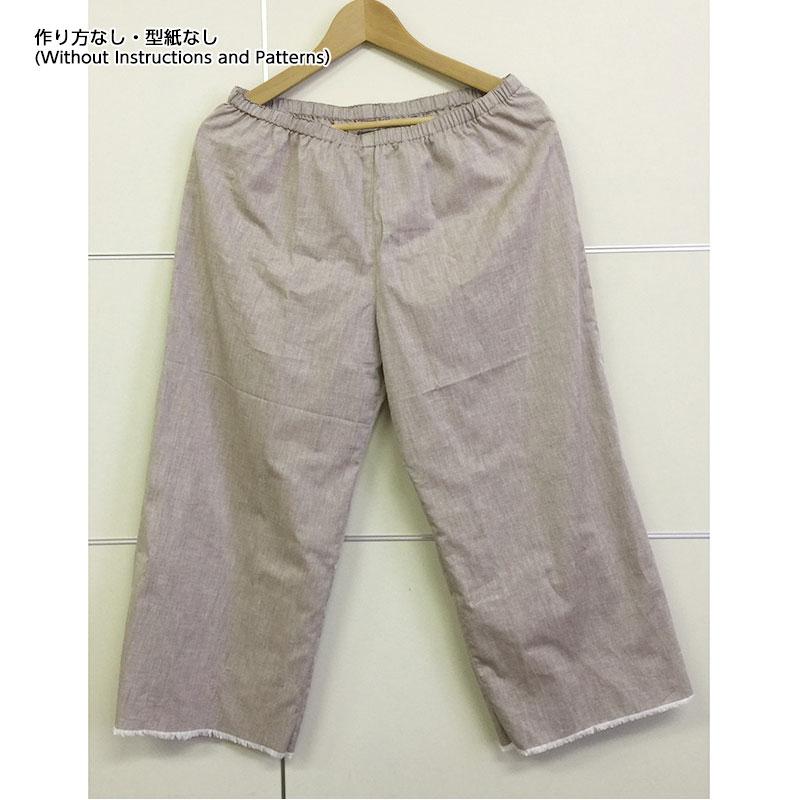 ペチパンツ(作り方なし)斉藤謠子の いま作りたいシンプルな服とかわいい小物掲載