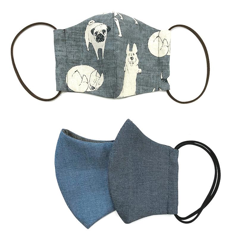 web20200321-02 青のギンガムチェック布(プレゼント付き) 10cm