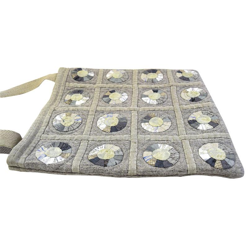 サークルパターンのバッグ(作り方なし)私たちのキルト掲載