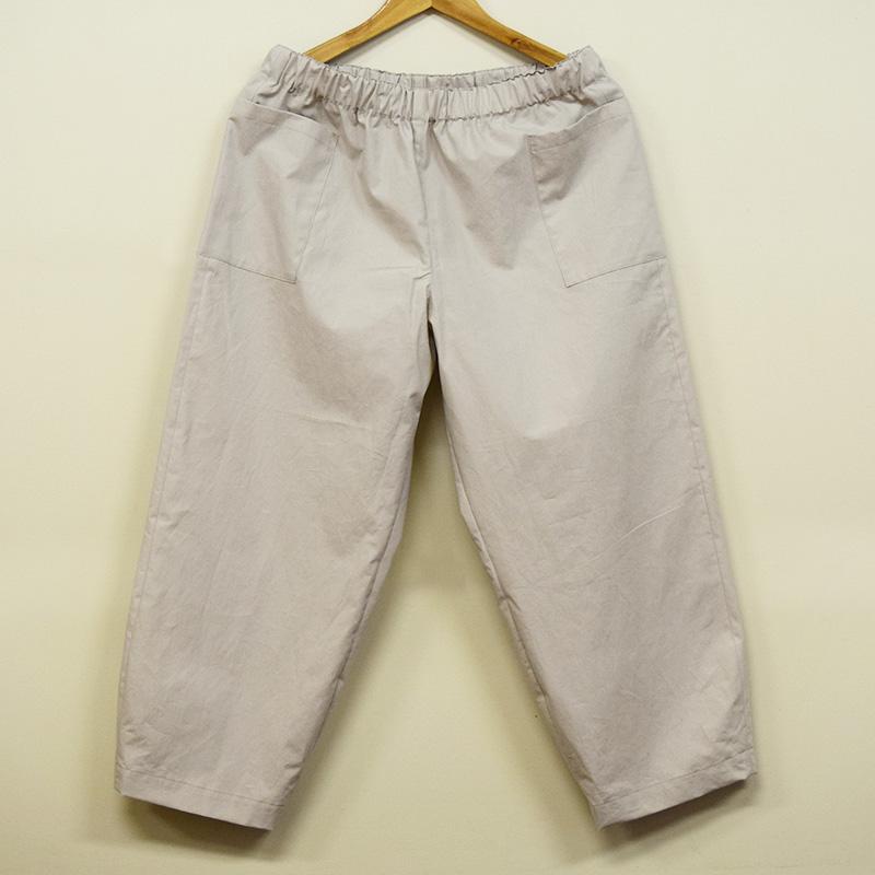 サイドポケットパンツ(作り方なし)すてきにハンドメイド2020年6月号掲載
