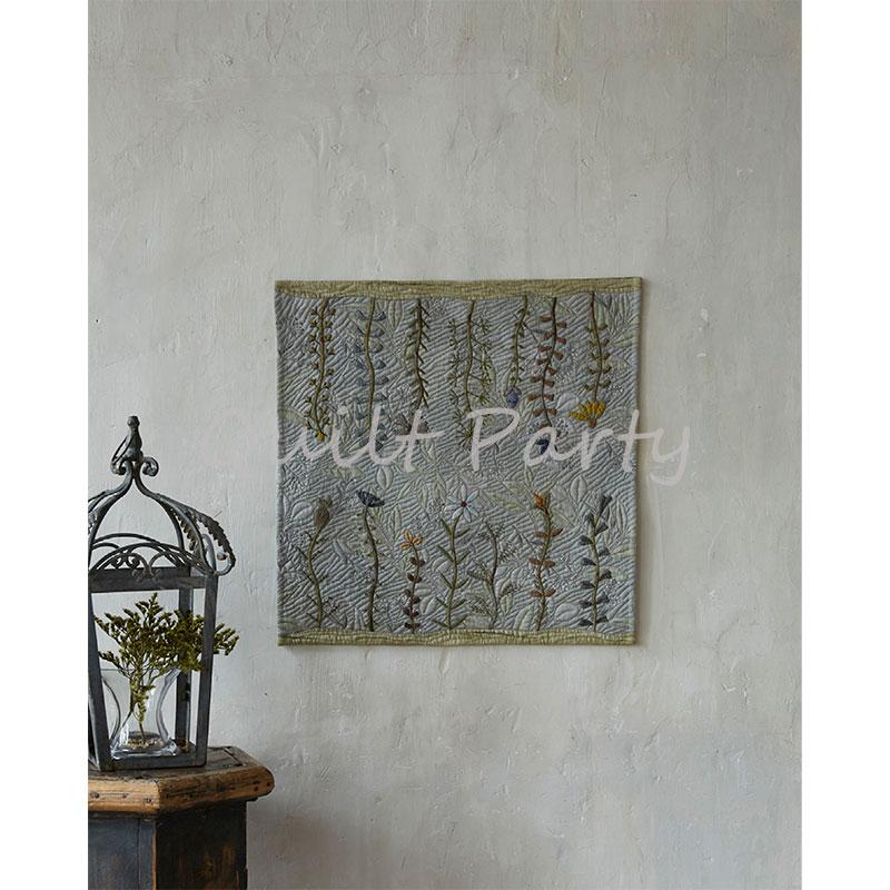 お花のタペストリー(作り方なし)私たちのキルト掲載
