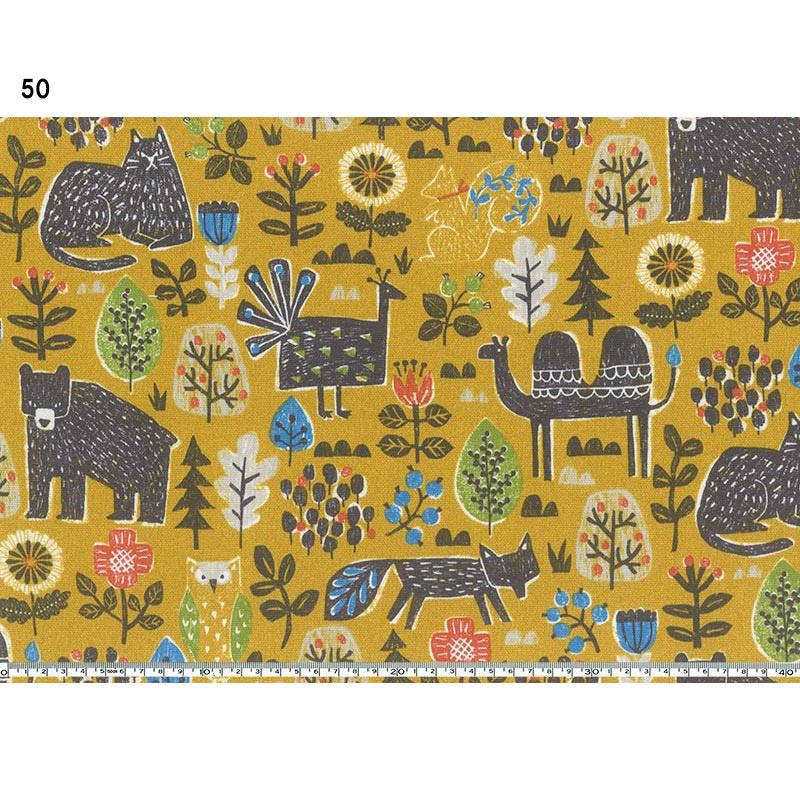 斉藤謠子オリジナルプリント 801900 花と動物 10cm