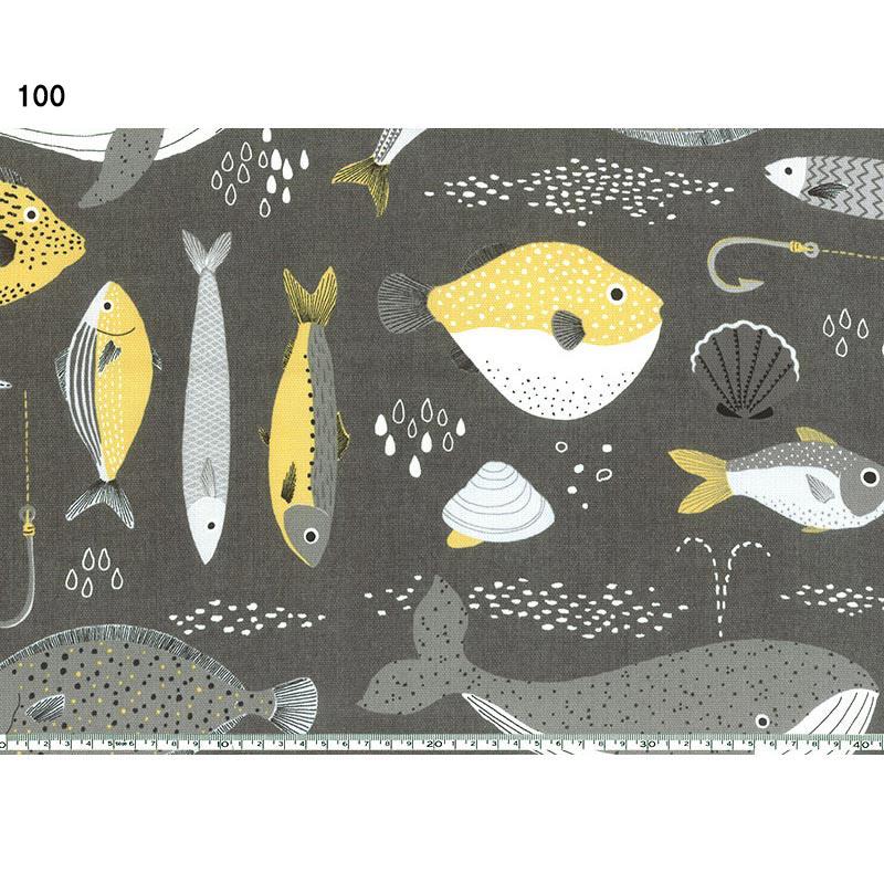 斉藤謠子オリジナルプリント 801901 海の生き物 10cm