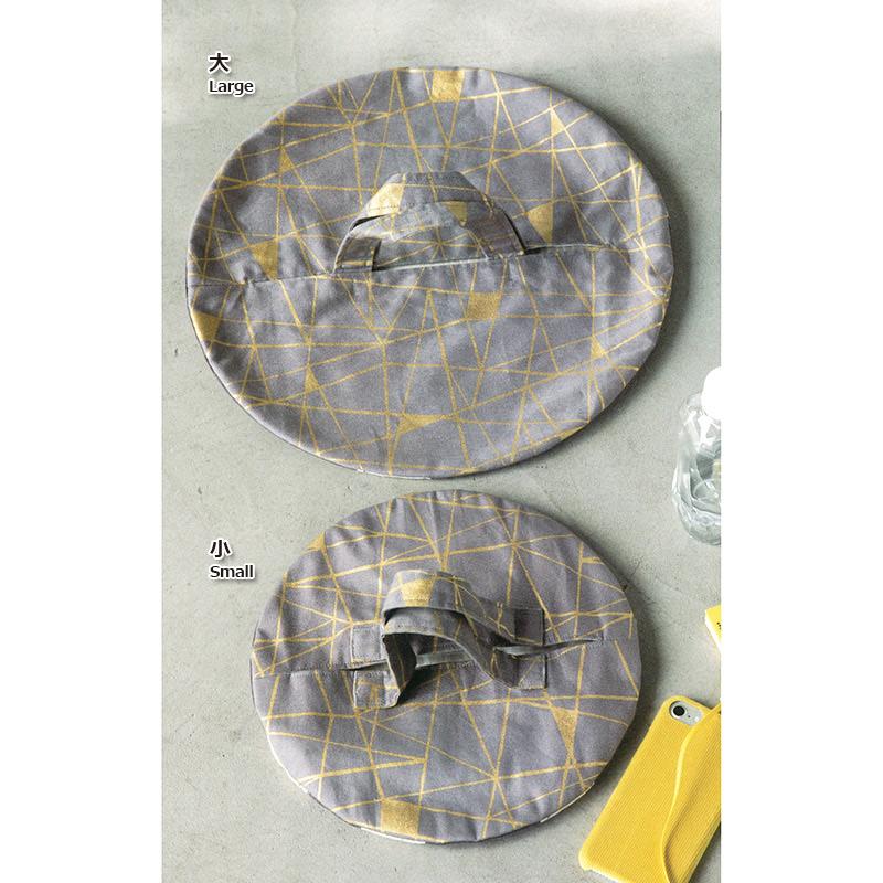 オリジナルプリントでつくる丸いバッグ大(作り方なし)斉藤謠子の いま作りたいシンプルな服とかわいい小物参照