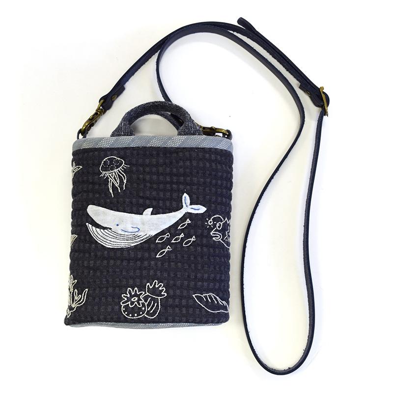 海洋のサコッシュ(作り方なし)斉藤謠子の手のひらのたからもの