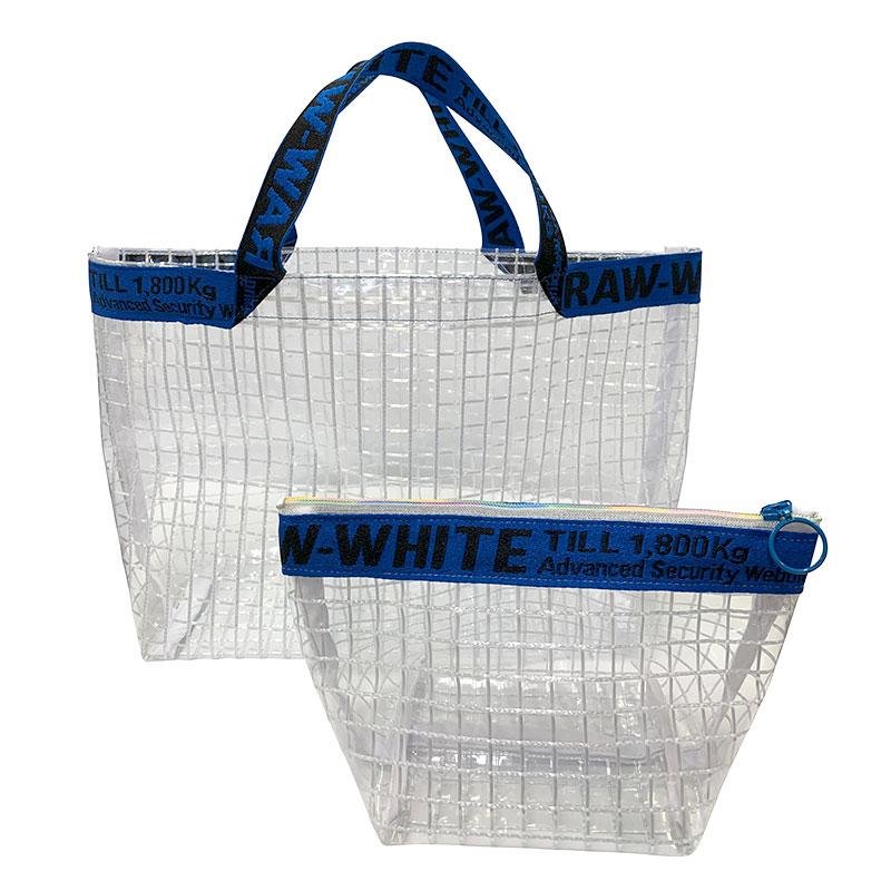 ネットビニールで作るバッグとポーチ