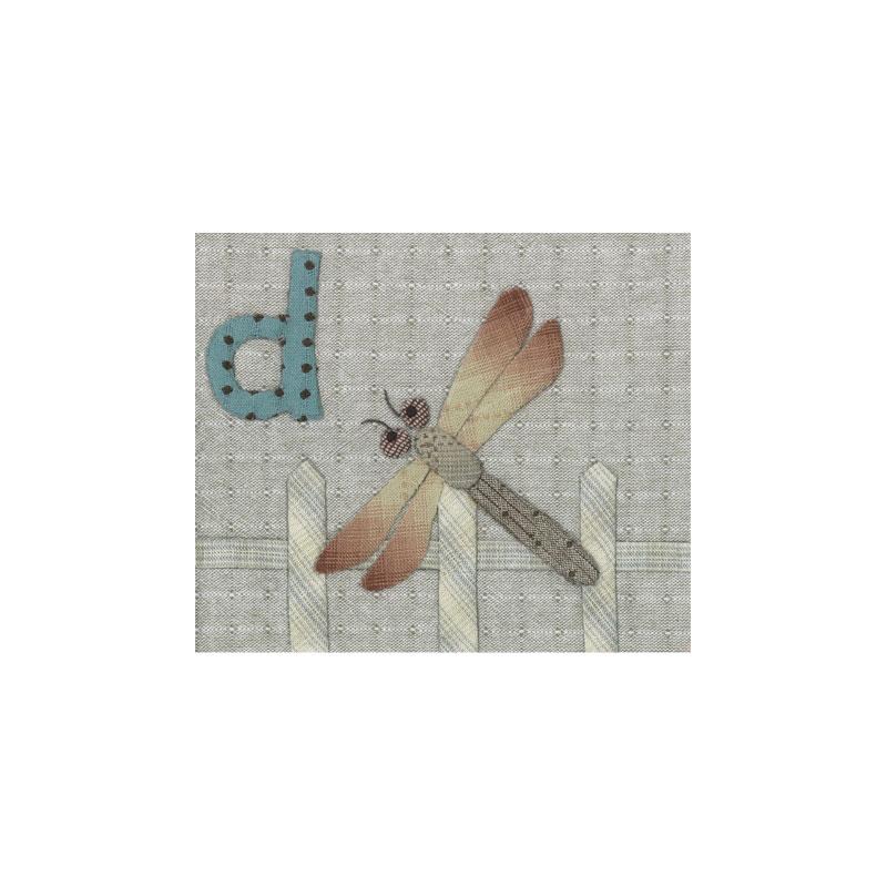 アルファベットで描くいきもの はげたか とんぼ うさぎ (作り方なし)斉藤謠子の 布で描くいきものたち掲載