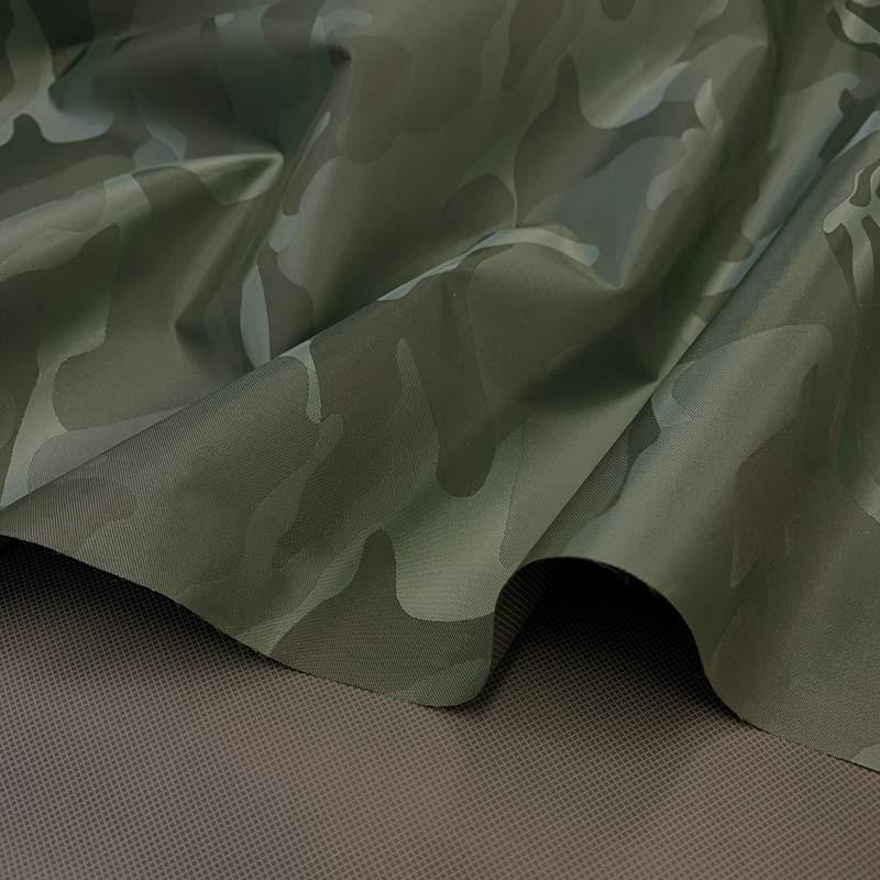 web20200620-01 エコバッグや雨の日におすすめ 迷彩柄のナイロン生地 10cm