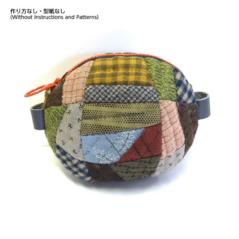 まるいポーチ(作り方なし)斉藤謠子の手のひらのたからもの
