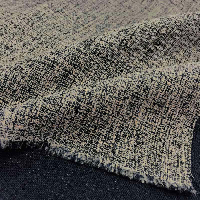 web20190627-01 ラグランそでのワンピース(ネイビー)の布 10cm