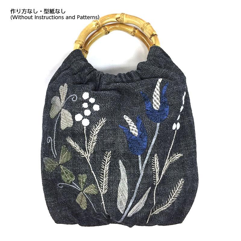 リング持ち手のバッグ(作り方なし)斉藤謠子の手のひらのいとしいもの掲載