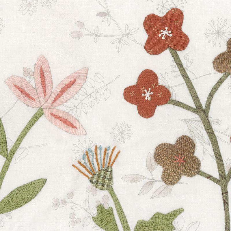 草花のタペストリー2