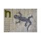 アルファベットで描くいきもの かめ いもり ざりがに (作り方なし)斉藤謠子の 布で描くいきものたち掲載