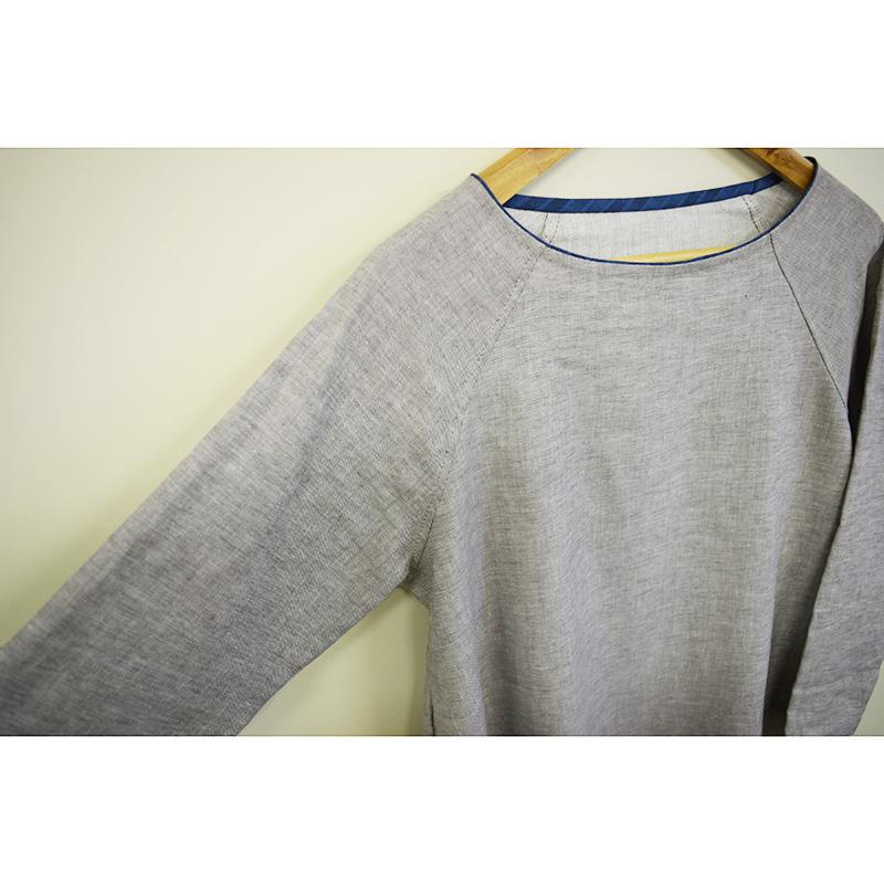 斉藤謠子着用 軽やかチュニック(作り方なし)着心地かろやか 手縫いのおとな服掲載