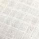 ダブルガーゼ白無地 格子模様 幅約70cm × 高さ約50cmカット布
