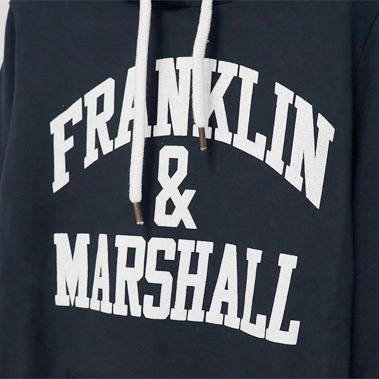 【FRANKLIN&MARSHALL】 オリジナル フード付きパーカー FLWVA520S