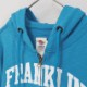 【FRANKLIN&MARSHALL】 オリジナル フード付きZIPパーカー FLWVA535X