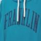 【FRANKLIN&MARSHALL】 オリジナル フード付きZIPパーカー FMWVA530S