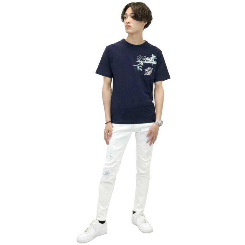 【GRF】ダメージパンツ スキニー B-024