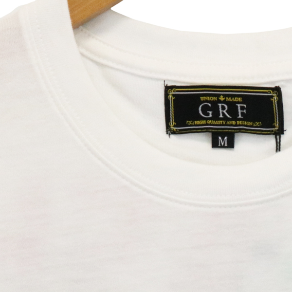 【GRF】 半袖 Tシャツ 両面プリント 男女兼用 クルーネック 21TCST-6