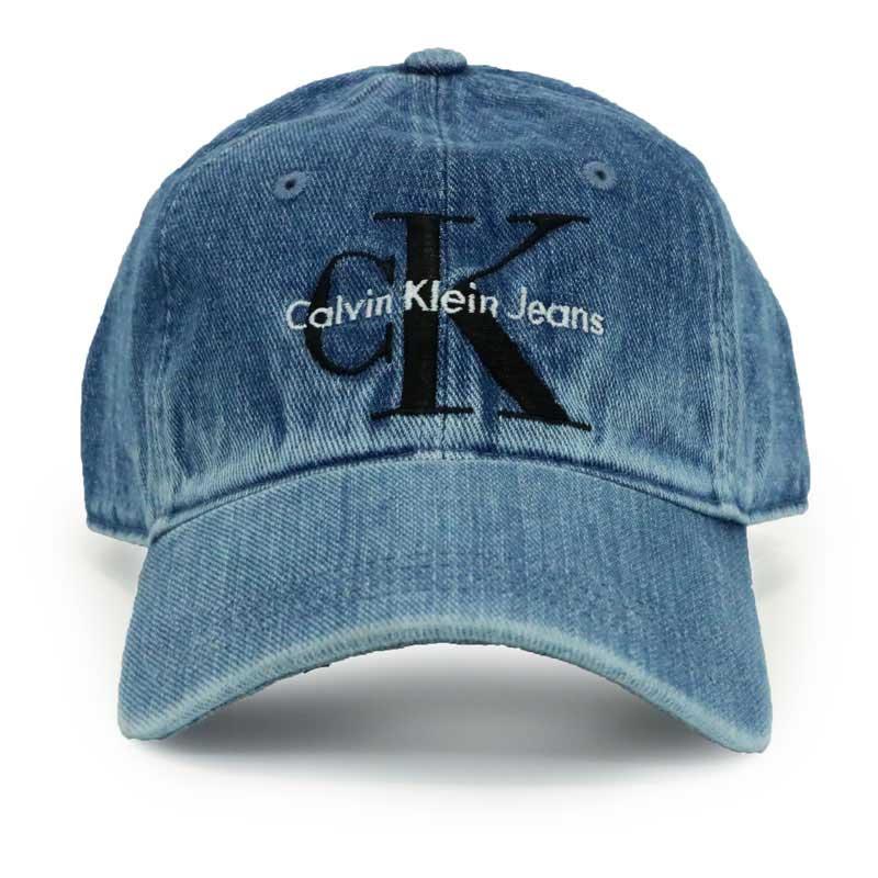 【Calvin Klein】 デニムキャップ 40HH931