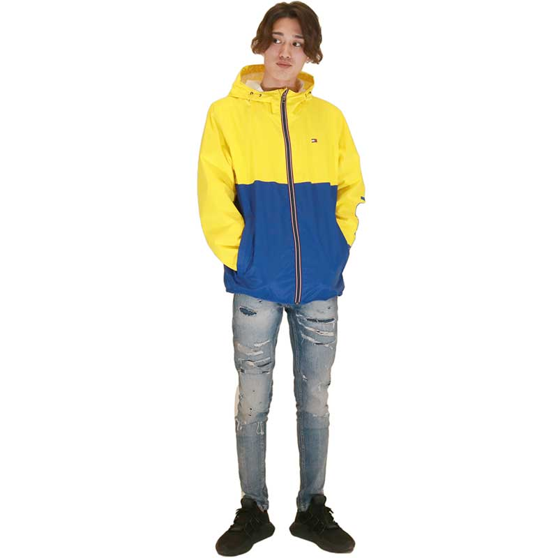 【TOMMY HILFIGER】 ナイロンジャケット 157AN416