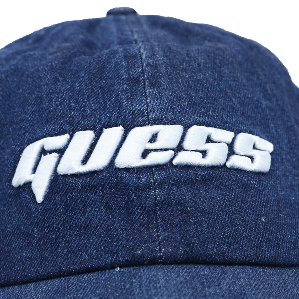【GUESS】デニムキャップ 男女兼用 M1RZ60WDR60