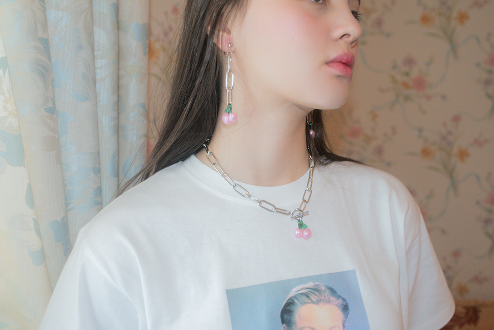 CHERRY CHAIN NECKLACE