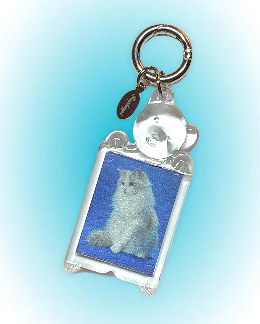(rsp made) kitty key ring (再入荷)